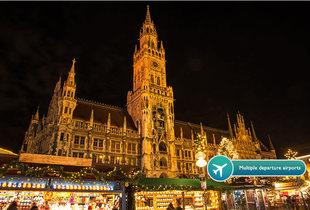 From £89pp for a two-night Munich break including flights and breakfast, from £149pp for three nights - visit the Xmas markets and save up to 51%
