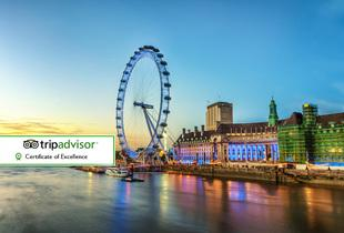 £89pp instead of up to £289pp (from OMGhotels.com) for a 4* overnight London stay with entrance to Madame Tussauds - save up to 69%