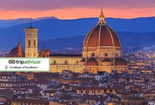 From £99pp for a two-night 4* Florence spa stay with flights and a bottle of wine, from £139pp including a hop-on hop-off tour or traditional pizza meal - save up to 24%