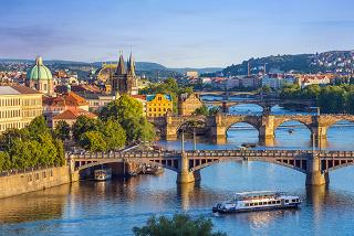 From £89pp for a two-night Prague getaway including breakfast, Prosecco, flights and a river cruise, from £99pp for three nights - save up to 43%
