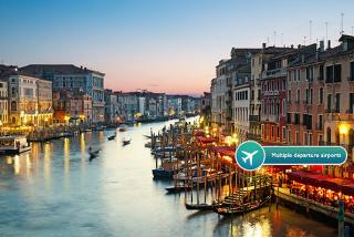 From £69pp (from ClearSky Holidays) for a two-night 4* Venice break with flights and tour upgrades - choose from eight airports and save up to 42%