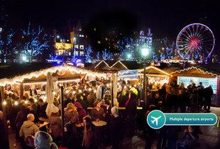 From £59pp for an overnight Edinburgh Christmas market break including flights, from £89pp for two nights or from £109pp for three nights - save up to 33%