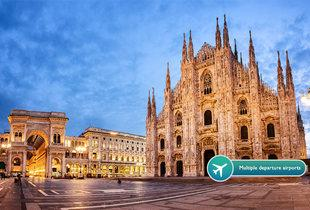 From £69pp instead of up to £99pp (from Crystal Travel) for a two-night 4* Milan break with flights, or from £99pp for a three-night break - save up to 39%