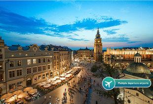 From £69pp instead of up to £141.98pp (from Tour Center) for a two-night Krakow break with flights - save up to 51%
