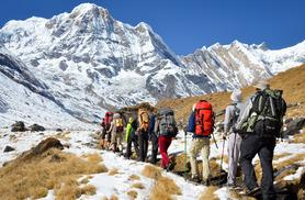£499pp instead of up to £1335.86pp (from Outfitter Nepal) for a 15-day Nepal trek experience inc. accommodation, transfers and guide - save up to 63%