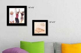 "£13.99 for a 12 x 12"" personalised canvas, £15.99 for 12 x 16"", £17.99 for 16 x 16"" or £19.99 for 16 x 24"" - save up to 68%"
