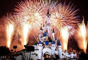 £159pp for a New Year's Eve Disneyland® and Walt Disney Studios® day trip with fast track ride entry and return coach from a choice of 13 locations