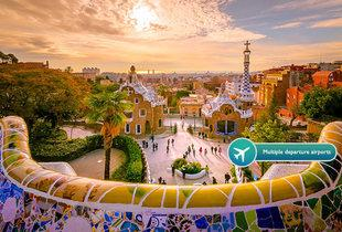 From £69pp instead of up to £86.98pp (from Refresh Holidays) for a two-night Barcelona break including flights, or from £99pp for three nights - save up to 21%