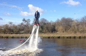 £69 instead of £95 for a 30-minute flyboarding experience, £128 for 2 people at Frodsham Watersports Centre, Cheshire with Flyboard Fun - save up to 27%