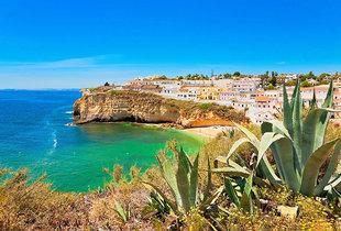From £69pp (from Tour Center) for a three-night all-inclusive Algarve break with flights, from £159pp for five nights, or from £189pp for seven nights - save up to 27%