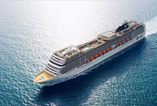 From £699pp for a 10nt Mediterranean cruise including full board, flights and a free balcony cabin upgrade, or pay a £200 deposit today - save up to £100pp
