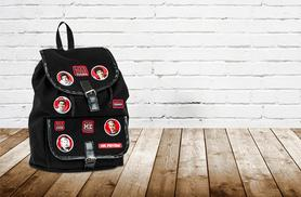£9.99 instead of £30 for a One Direction cotton canvas school rucksack from Wowcher Direct - save 67%