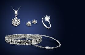 £16 instead of £219 (from Your Ideal Gift) for a 5-piece Czech crystal jewellery set – save 93%