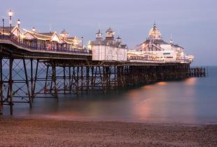 From £39 for an overnight stay in Eastbourne for two people with breakfast, from £59 for four, from £69 for a two-night stay for two, from £89 for four - save up to 51%