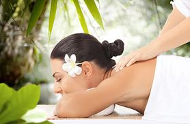 £14 for a choice of massage inc. Swedish, deep tissue or aromatherapy massage at Pamper Me, Stockport - save up to 58%