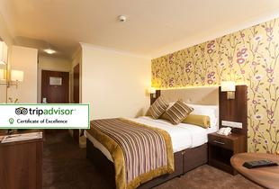£89 for an overnight stay for two with breakfast, a two-course meal with wine and leisure access, £139 for two nights at White Horse Hotel, Derry - save up to 37%