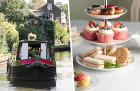 From £29 instead of up to £60 for a canal cruise and afternoon tea for 2 with M.Bar.K, Burscough - save up to 52%
