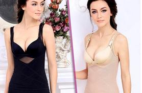 £11.99 instead of £69.99 (from Boni Caro) for two underbust shapers in black and beige - save 83%