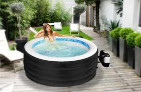 £349.99 instead of £899.99 (from Groundlevel.co.uk) for an indoor or outdoor 4-person jacuzzi hot tub - save 61% + DELIVERY INCLUDED