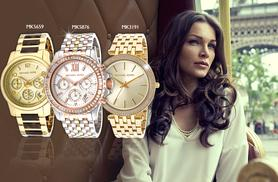 From £115 for a stylish Michael Kors watch from Wowcher Direct - choose from six designs for men and women and save up to 44%