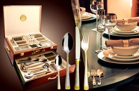 £79 instead of £194 for a 95-piece silverware set from Wowcher Direct - save 59%