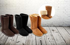 £39 instead of £95 (from Suga Rush Love) for a pair of 100% leather sheepskin boots - save 59%