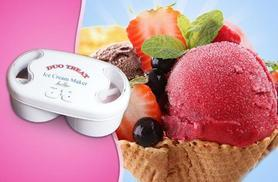 £11 instead of £39.95 (from Jean Patrique) for an ice cream maker - make a delicious treat and save 72%