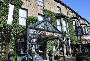From £89 for an overnight stay for two with breakfast and a bottle of Prosecco, or from £129 for a two-night stay at the Harrogate Brasserie Hotel - save up to 43%