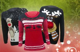 £12 instead of £39.99 (from MYO Fashion) for a Christmas jumper in a choice of 5 designs - save 70%