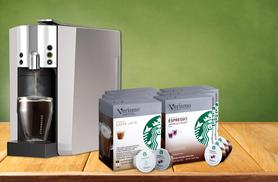 £99.99 instead of £199.99 (from Kitchen Gadgets) for Starbucks Verismo 600 Coffee machine with 72 coffee pods - save 50%