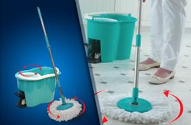 £14.99 instead of £24.99 (from Good Ideas Online) for a spin mop and pail - save 40%