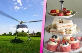 £139 instead of £318 for a 12-15-mile helicopter ride for 2 inc. an afternoon tea at Marco Pierre White's Wheeler's restaurant with Experify - save 56%