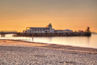 £69 (at Britannia Hotel, Bournemouth) for a 1-night break for 2 with wine, breakfast, 3-course dinner and spa access, from £109 for 2 nights