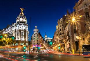 From £119pp instead of up to £240pp (from Weekender Breaks) for a 2nt 4* Madrid break including flights, or from £159pp for 3nts - save up to 38%