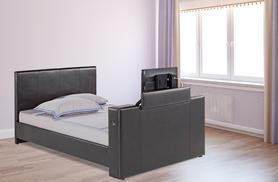 £399.99 instead of £970 (from D Furniture Store) for a double faux leather TV bed frame in brown or black, £450 for king size - save up to 59%