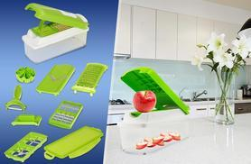 £9.99 instead of £23 (from Zoozio) for a 1500ml capacity 11-piece super dicer gadget inc. 5 blades - save 57%