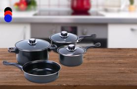£11.99 instead of £48.99 (from Groundlevel) for a 7-piece non-stick pan set in a choice of colours - save a saucy 76%