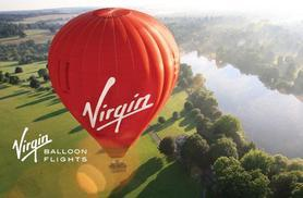 £99 (from Virgin) for a 7 Day Anytime Plus Hot Air Balloon Experience for 1 person or £189 for 2 - choose 1 of 100+ locations & save up to 50%