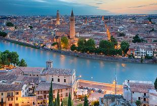 From £119pp (from Tour Center) for a two-night 4* Verona break with return flights, from £159pp for three nights