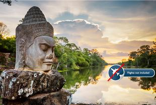 £349pp instead of up to £1499pp for a six-night tour of Cambodia including accommodation, English speaking tour guides and selected meals - save up to 77%