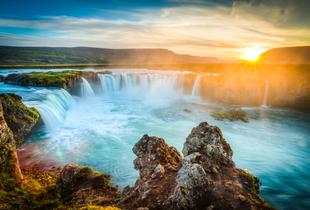 From £199pp (from ClearSky Holidays) for a two-night 4* Iceland break including flights, from £299pp for a three-night stay - save up to 25%