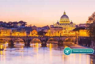 From £69pp (from ClearSky Holidays) for a two-night 4* Rome break including flights, from £99pp for three nights - save up to 27%