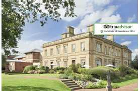 From £99 for an overnight luxury 4* Yorkshire stay for 2 at Oulton Hall Hotel including breakfast, 2-course dinner and bottle of wine - save up to 67%