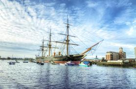 £29 instead of £59 for a 1-year pass for 2 people to Portsmouth Historic Dockyard inc. a guidebook from Buy a Gift - save 51%