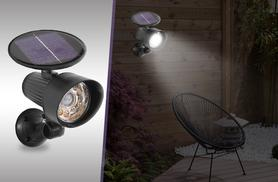 £17.99 instead of £45 (from Home Shopping Selections) for a pair of all-in-one solar lights - save 64%