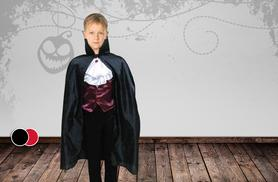 £8.99 instead of £29.99 (from Top Notch Fashion) for a children's Halloween cape in a choice of colours - save 70%