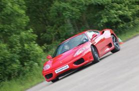 £49 instead of £129 for a junior supercar experience with Ferrari 360 F1, Throckmorton Airfield - jump in the fast lane and save 62%
