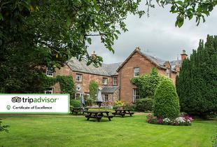 £49 for an overnight stay for two people including breakfast, £89 for a two-night stay at the 4* Buccleuch Arms, St. Boswells - save up to 55%