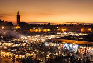 From £99pp instead of up to £139pp for a 4* 2nt Marrakech break, from £129 for 3nts from Weekender Breaks - save up to 41%