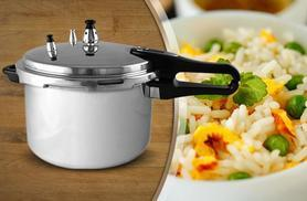 £13.99 for a 3-litre pressure cooker, £18 for 7-litre, £21 for 9-litre, or £24 for 11-litre from Wowcher Direct - save up to 70%